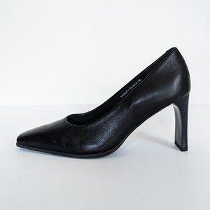 🇧🇷 Gianni Fermani Black Leather Heels Brazil